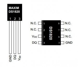 DS1820+pin+configurations