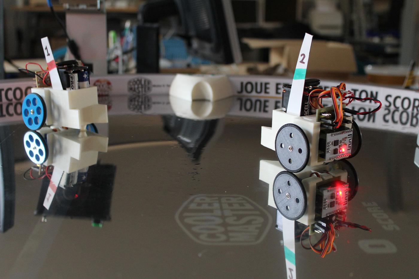 Robot Wifi impression 3D esp 8266